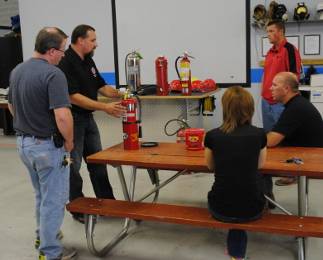 Importance of safety training, osha 30 class, fire extinguisher service