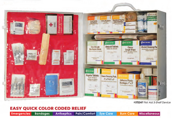 First Aid Cabinet, First Aid Training, Safety Training, aed training chicago