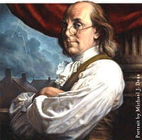 Benjamin Franklin, Electrical Safety, Office safety