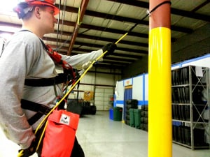Rescue Tech with Equipment