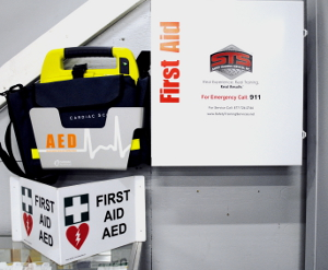 First Aid AED
