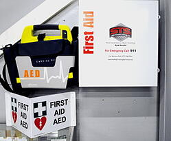 aed training, workplace safety, office first aid kits