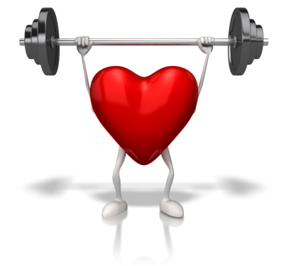Heart Exercising with Weights