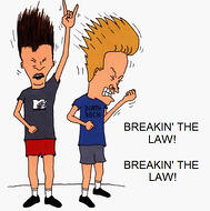 Beavis & Butthead - Breaking the Law