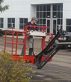 Aerial lift training, aerial work platform training, aerial lift safety training