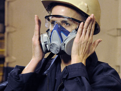 respirator training, fit testing, qualitative testing