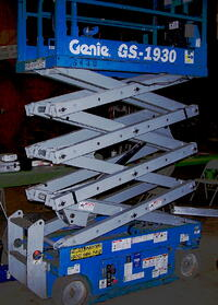 awp training, scissor lift, scissor lift training, aerial lifts, aerial lift training, genie scissor