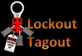 lockout tagout training, lockout, lockout tagout program, loto