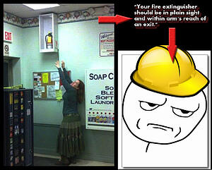 fire extinguishers, fire extinguisher service, fire extinguisher training, osha