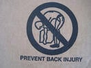 Back injuries, office safety