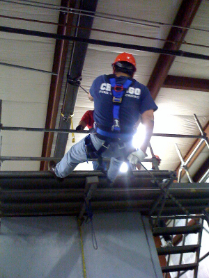 fall protection, fall harness, working at heights