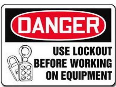 Lockout, tagout, loto training