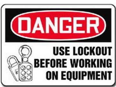 Lockout, tagout, loto training