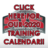 Click to see our 2020 safety training course dates!