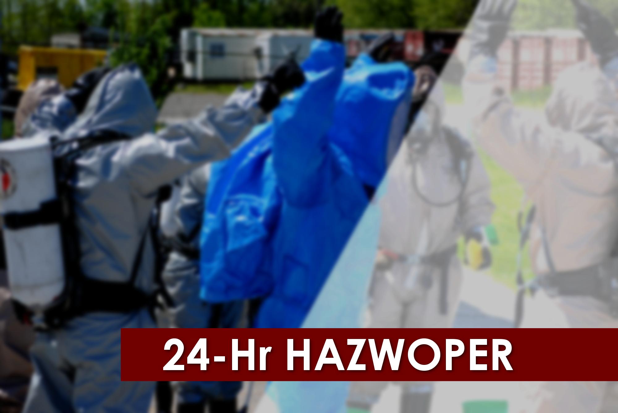 24-hour Hazwoper training