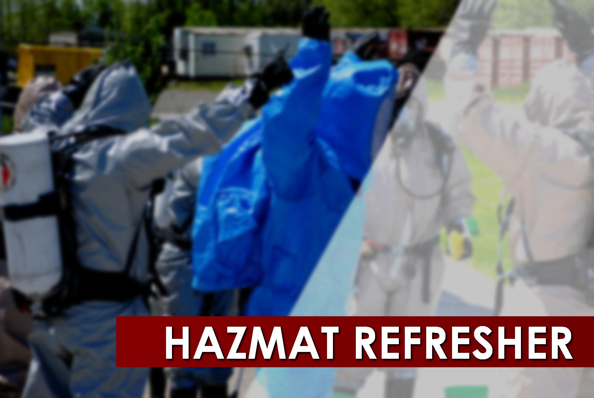 HAZMAT Refresher Training