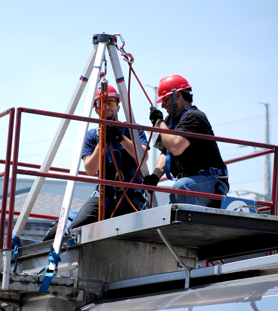 Industrial Rescue - Standby Rescue, Confined space rescue team