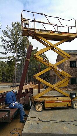 Scissor_Lift_Safety_Fail_-_Man_Incorrectly_Using_Extension_Deck_as_Hoisting_Device-Resize